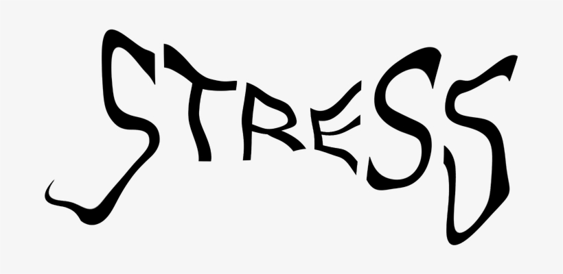 Blessed To Be Stressed - Stress Brain Transparent Background, transparent png #2929956