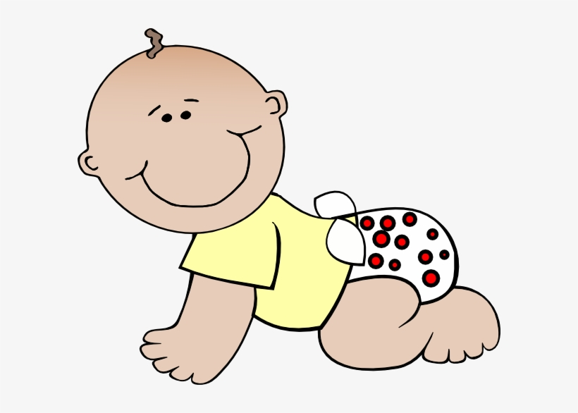Baby Crawling Clipart Baby Clipart No Background Free Transparent Png Download Pngkey