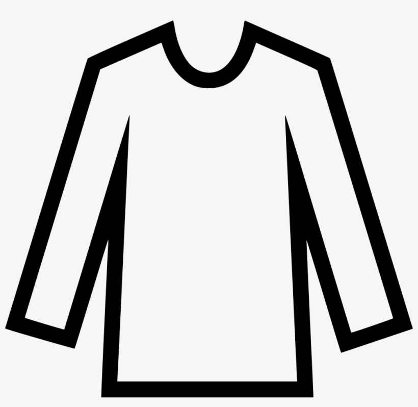 long sleeved shirt long sleeve shirt icon free transparent png download pngkey long sleeved shirt long sleeve shirt
