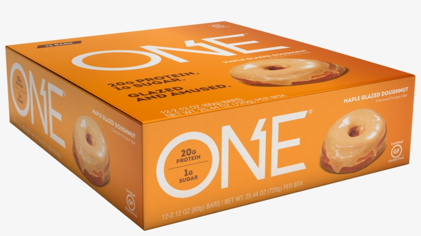 Oh Yeah One Bar 12 Bars Maple Glazed Doughnut, transparent png #2934156