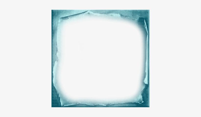 Soave Frame Vintage Paper Blue Turquoise - Blue Vintage Frame Png, transparent png #2934661