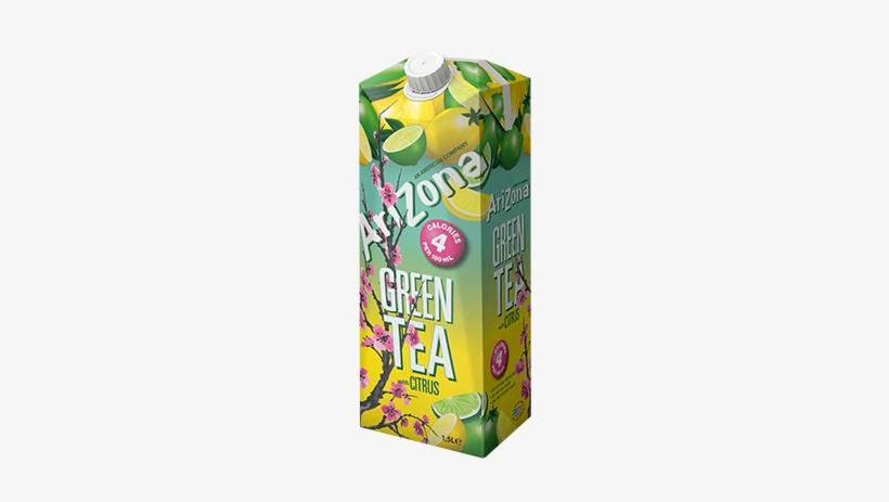 Arizona Green Tea Citrus - Arizona Green Tea Citrus Low Calorie Van Albert Heijn, transparent png #2936204