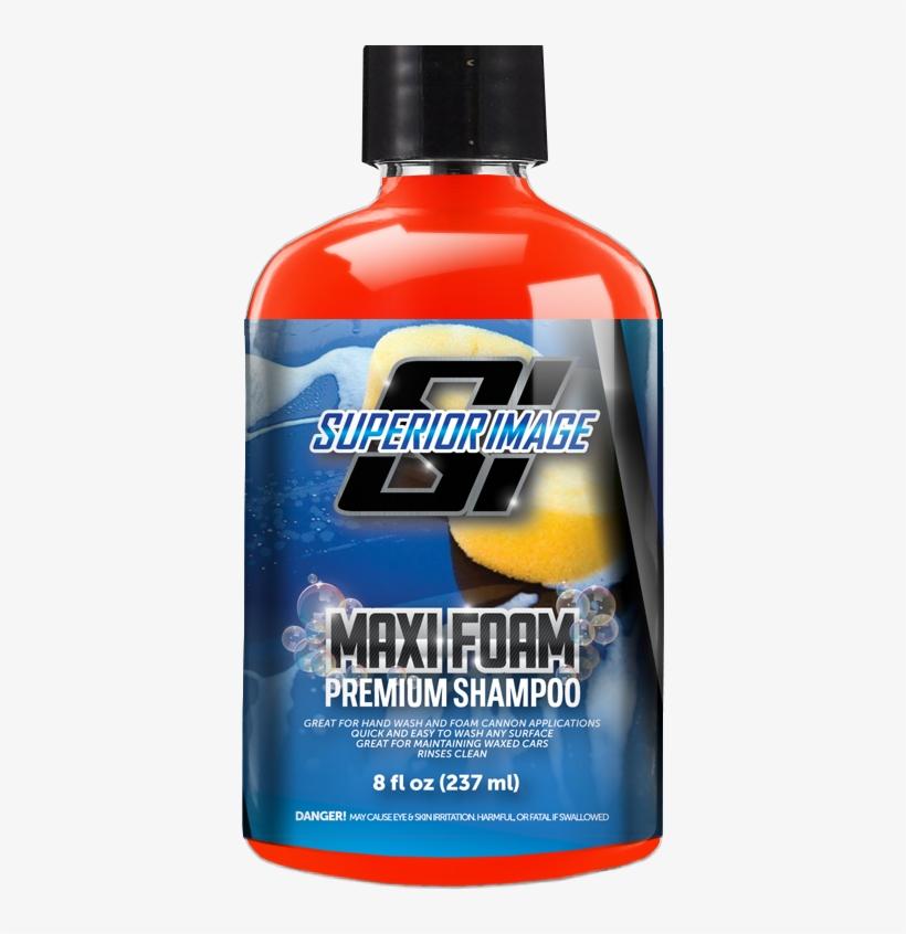 Maxi Foam Car Wash Shampoo, transparent png #2936288