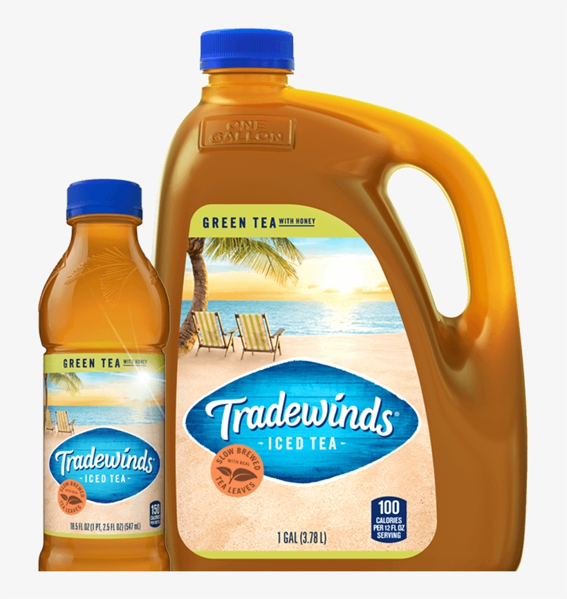 Tradewinds Sweet Iced Tea - 1 Gal Jug, transparent png #2936574