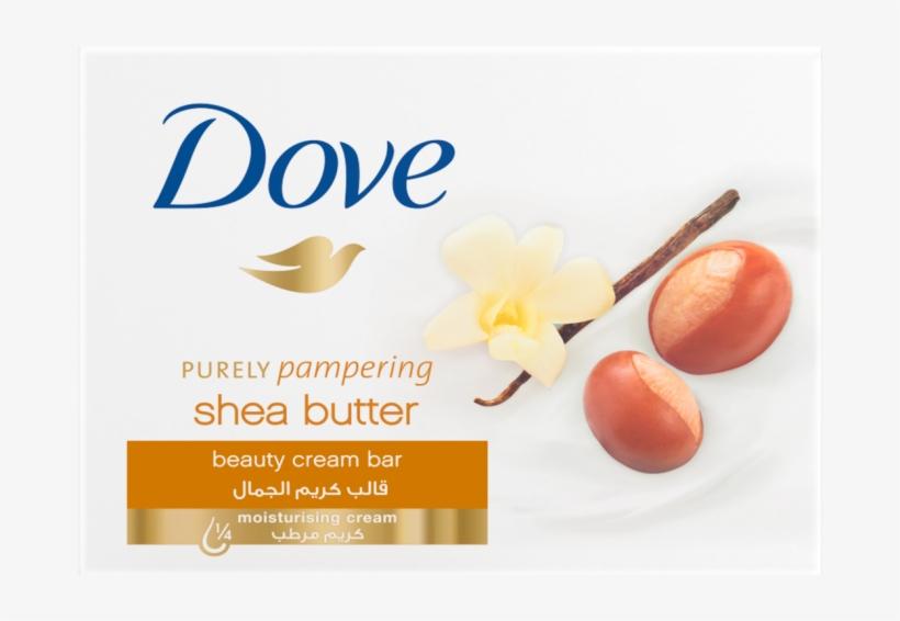 Dove Beauty Cream Bar Shea Butter 100g, transparent png #2937349