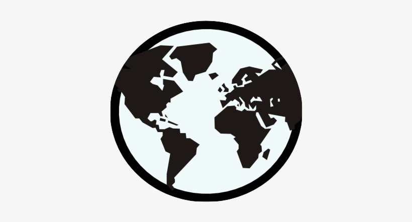 Globe - World Map Icon Png - Free Transparent PNG Download ...