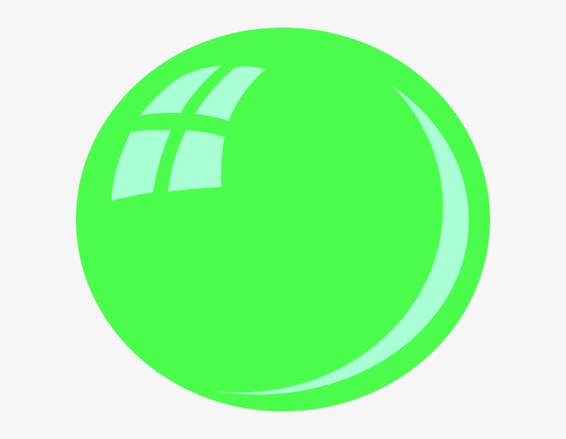This Free Clipart Png Design Of Green Bubble Clipart - Green Bubble Clipart, transparent png #2939994