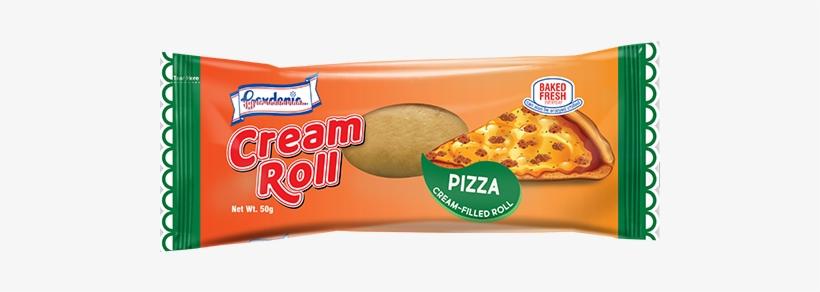 Pizza Cream Roll - Gardenia Cream Roll Cookies And Cream, transparent png #2940175