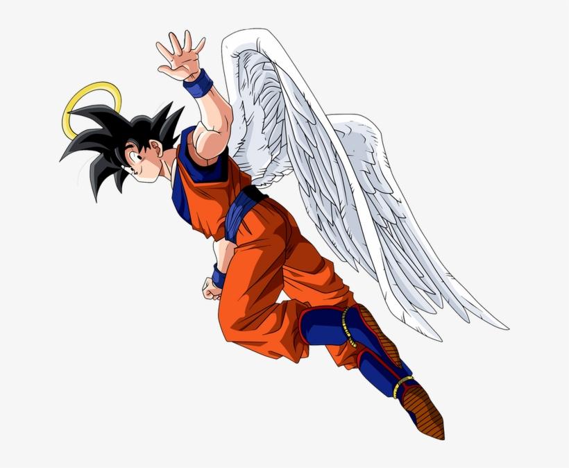 Render Dragon Ball Goku Com Asas - Goku Died, transparent png #2942054