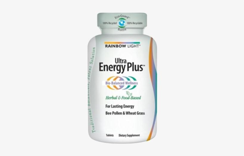 Rainbow Light Ultra Energy Plus 60 Tablets - Rainbow Light Magnesium Calcium +, Tablets - 90 Tablets, transparent png #2944780