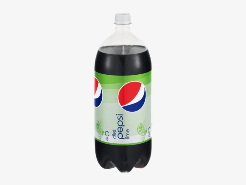 Pepsi Lime Diet Cola - 67.6 Fl Oz Bottle, transparent png #2945768