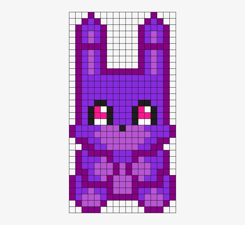 Bonnie Plushie Perler Bead Pattern / Bead Sprite Papel - Pixel Art ...