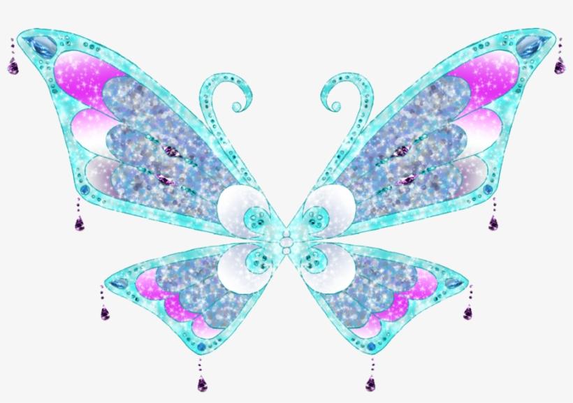 Aras Enchantix Wings By Merma - Winx Club Fairy Wings, transparent png #2946976