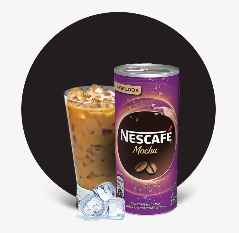 Nescafé® Ready To Drink Mocha Chilled Coffee - Nescafe Iced Coffee Original, transparent png #2950423