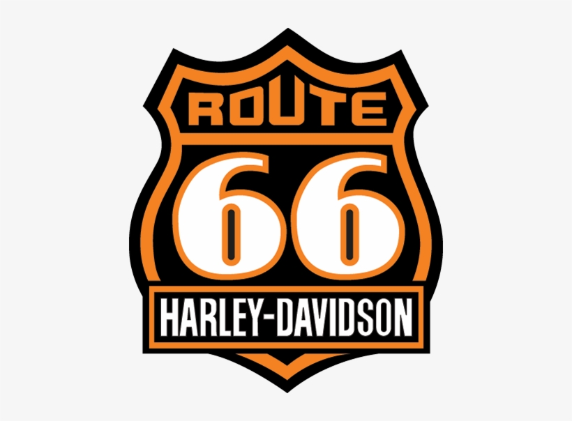 Route 66 Shirts Route 66 Harley Logo Free Transparent