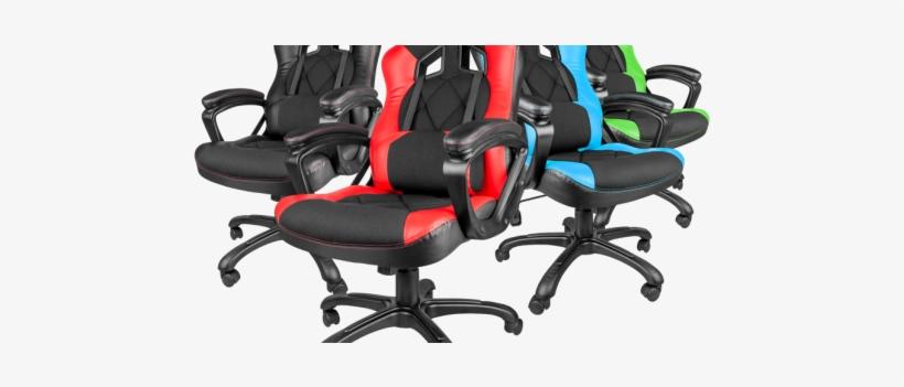 Nitro 330 Gaming Chair - Natec Genesis Gaming Chair Sx33 Black-red, transparent png #2953098