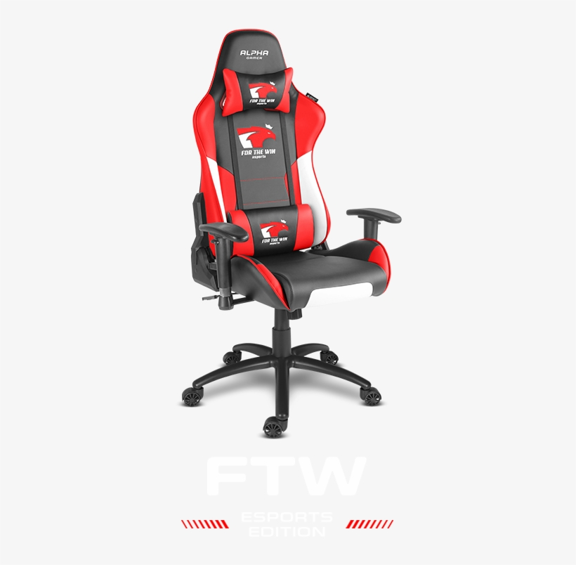 Alpha Gamer Esports Edition Ftw - Black And Blue Gaming Chair, transparent png #2953229