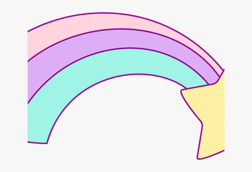 Pastel Rainbow Cliparts - Drawing - Free Transparent PNG ...