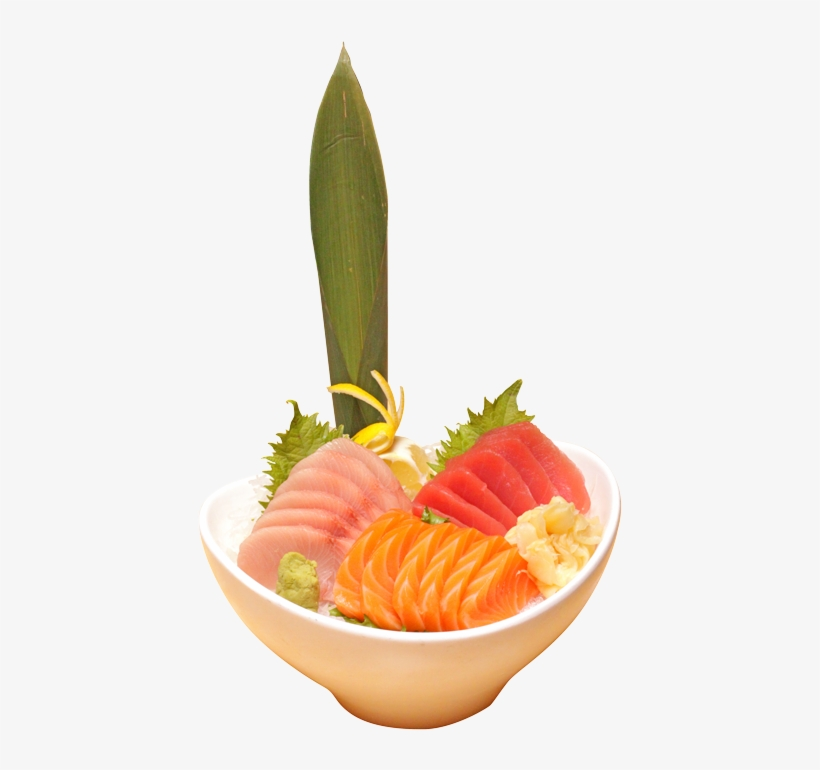 The Tricolor Sashimi May Say It Serves One, But This - Sashimi, transparent png #2955404