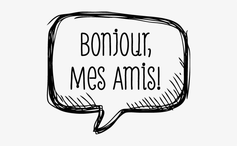 Bonjour Mes Amis Logo De Bon Jour Free Transparent Png