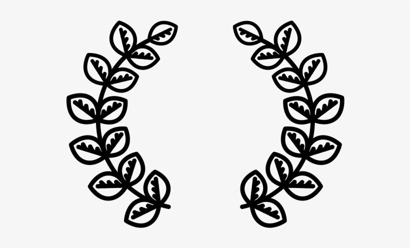 Laurel Wreath Rubber Stamp - Laurel Wreath, transparent png #2957366