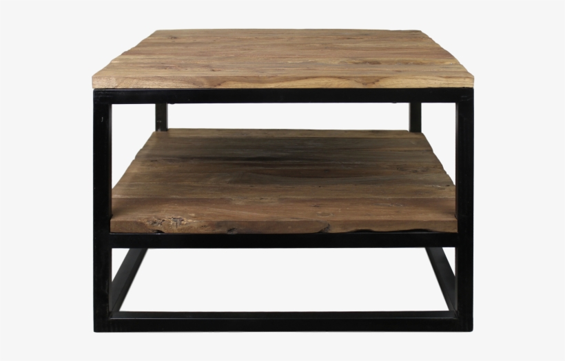 Coffee Table - Old Wood/iron - Coffee Table, transparent png #2959453