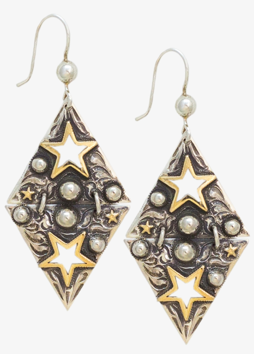 14k Gold Fill Star Chandeliers - Gold-filled Jewelry, transparent png #2959455