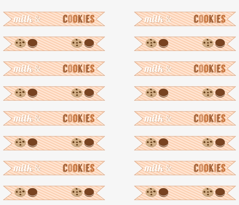 Free Milk And Cookies Party Printables Pin It - Cookies And Milky Tea Party, transparent png #2959945