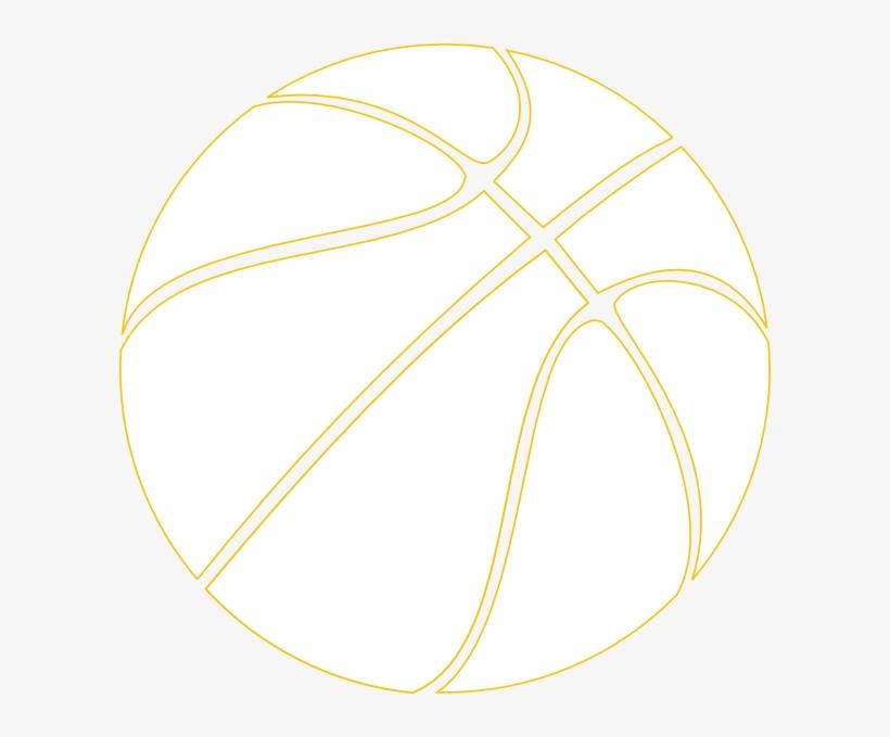 Basketball Outline - Transparent Background Basketball Ball, transparent png #2963300