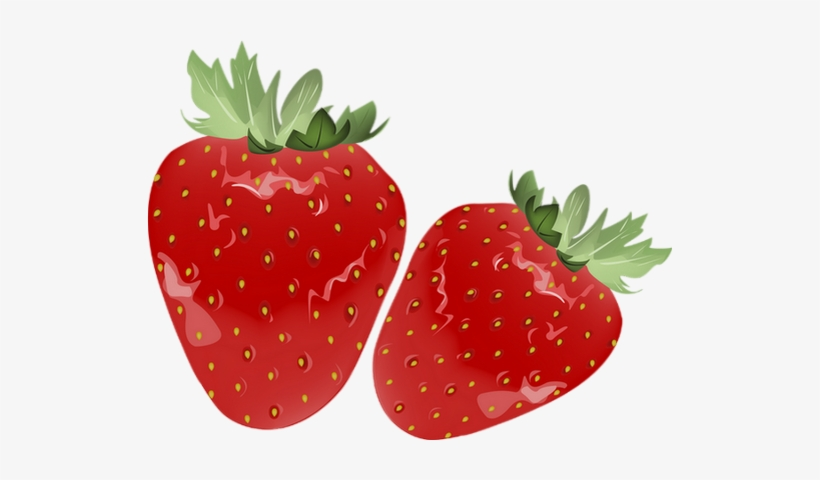 Fraises Png, Tube - Strawberries, transparent png #2963500
