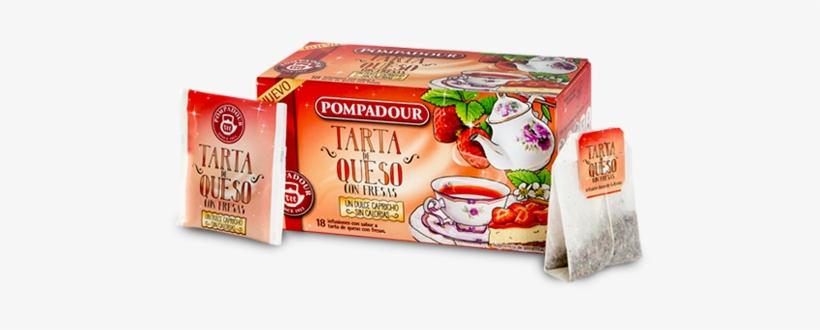Tarta De Queso Con Fresas - Infusión Con Sabor A Tarta De Queso, transparent png #2964015