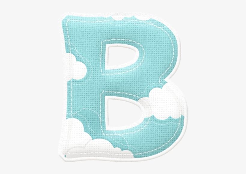 Alfabeto Celeste Con Nubes - Celestes Letras De Baby Shower Para Imprimir 9a4c19aeaae