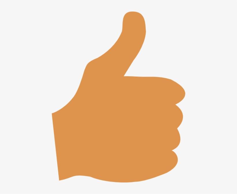 Thumbs Up Clip Art At Clker Com Vector Clip Art Online - Cartoon Pictures Of Thumb, transparent png #2971675
