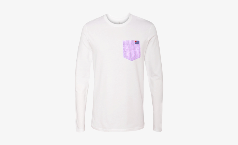 Our Signature 100% Cotton Long Sleeve T-shirt With - T-shirt, transparent png #2971709