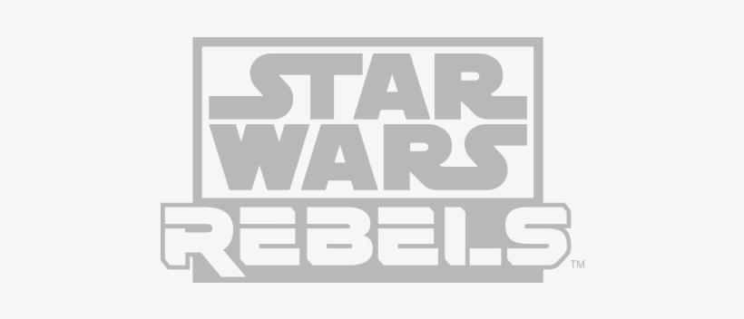 Star Wars Rebels Logo - Star Wars Rebels White Logo, transparent png #2971737
