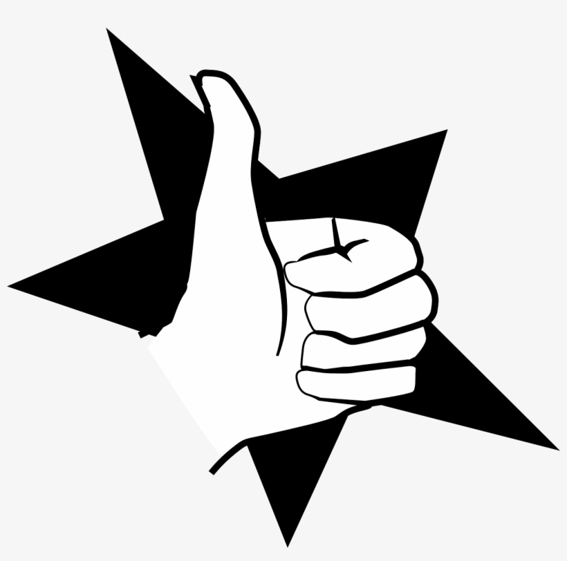 Hitch,hitchhike,thumb Up,like,thumbs Up,approve,yes, - Thumbs Signal, transparent png #2971804