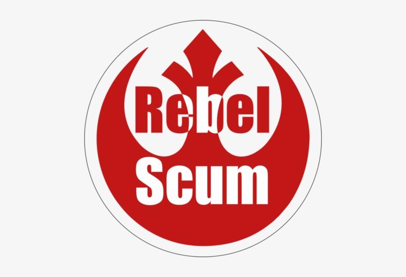 Star Wars Rebel Scum Logo - Star Wars Rebel Symbol, transparent png #2971839