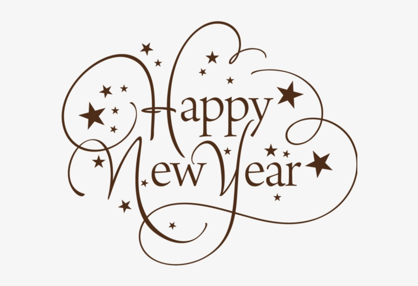 New Year 13 New Year Stickers Photo Ideas Transparent - Happy New Year Return Address Labels, transparent png #2972497