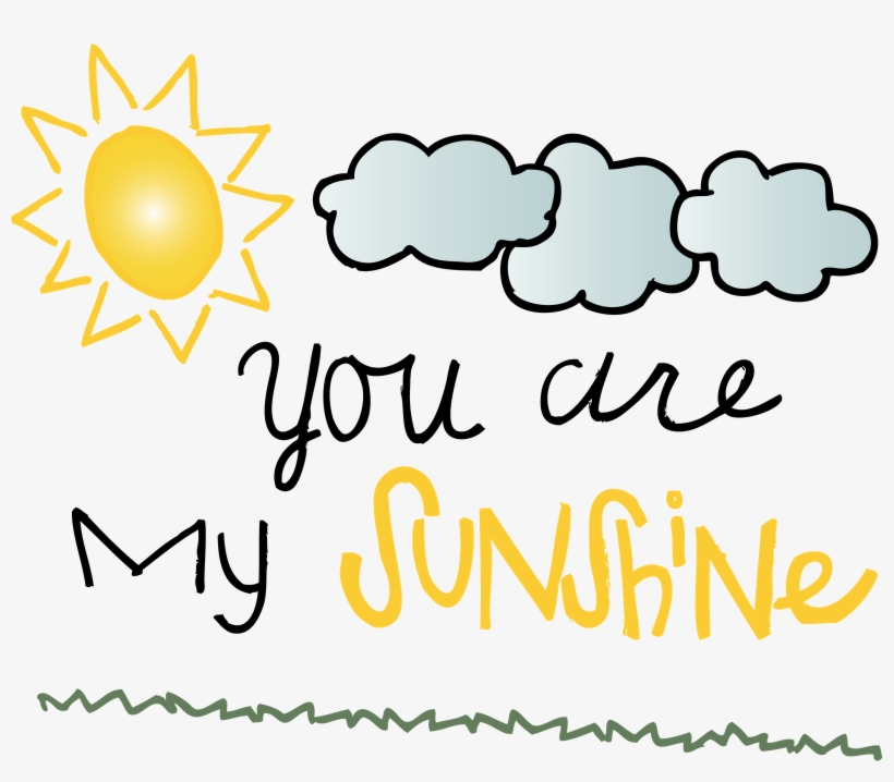 You Are My Sunshine - You Are My Sunshine Round Ring - Round Custom Rings, transparent png #2972985