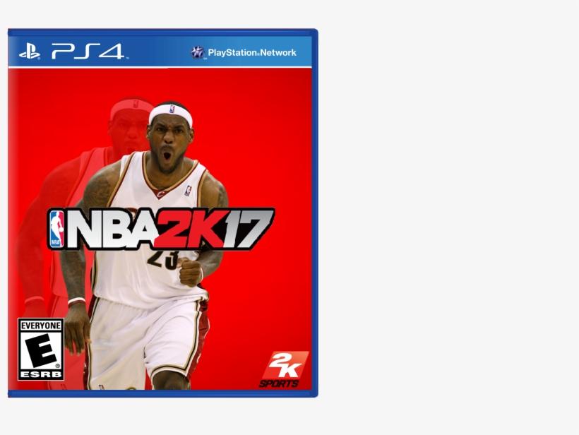 Viewing Full Size Nba Box Cover Png Nba 2k17 Ps4 Cover - 2k Nba 2k14 - Playstation 4, transparent png #2976306