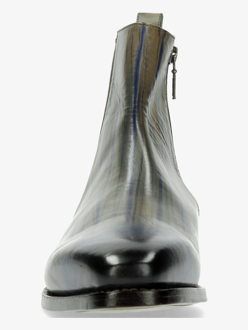 Ankle Boots Kylian 2 Clear Water Lines Electric Blue