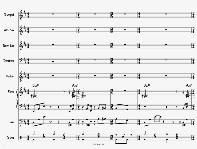 Common Ground Sheet Music Composed By Matthew Case - Sheet Music, transparent png #2978202
