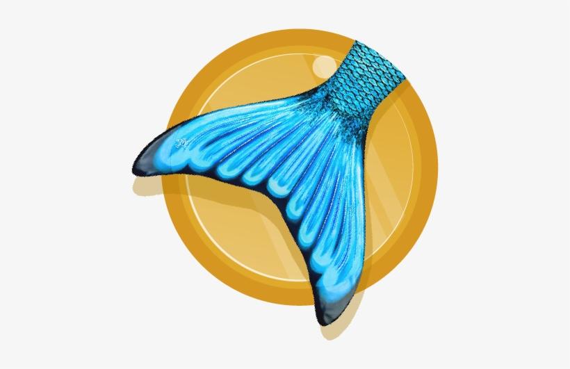 Scarlet/mariana Mermaid Tail - Mariana's Tidal Teal Mermaid Tail, transparent png #2978475