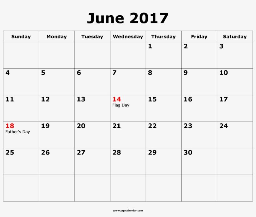 June 2017 Blank Calendar November Template Transpa Png 2978857