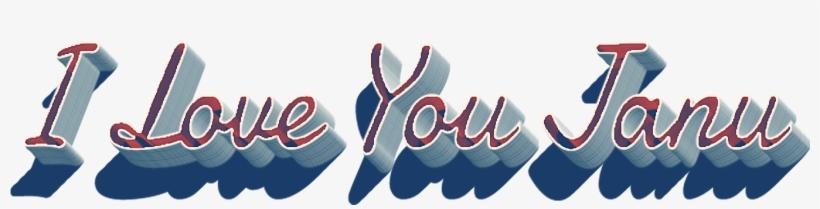 I Love You Janu Name Wallpaper - Love You Janu Name