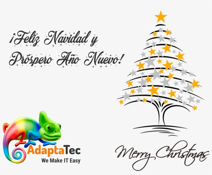 Adaptatec Os Desea Una Muy Feliz Navidad Y Un Próspero - Noel - Merry Christmas Card, transparent png #2980637