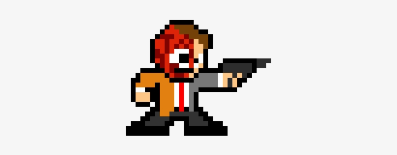 Two Face - Pixel Art Two Face, transparent png #2982221