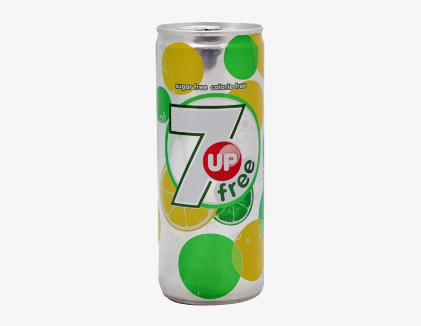 7up Drink Free Can 250ml - Britvic 7 Up Free Cans 6 Pack - 4 X 6x330, transparent png #2985154