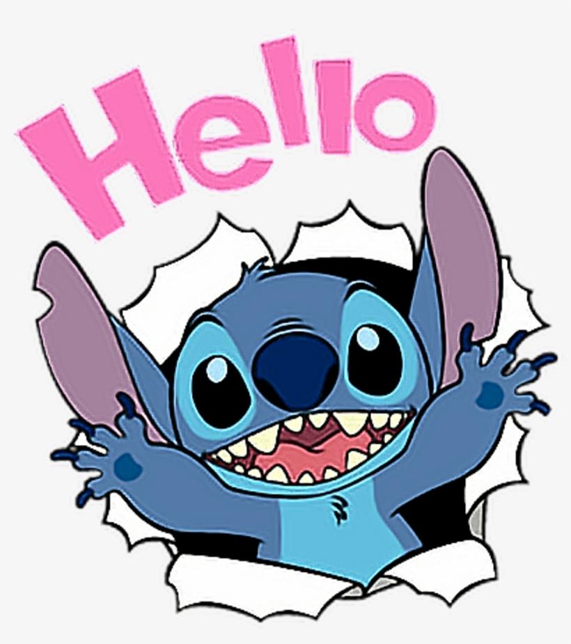 Stitch Disney Hello Cute Liloandstich Freetoedit - Lilo ...