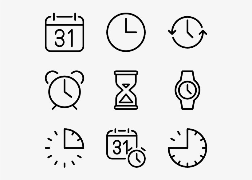 Time Hobbies Icon Png Free Transparent Png Download Pngkey
